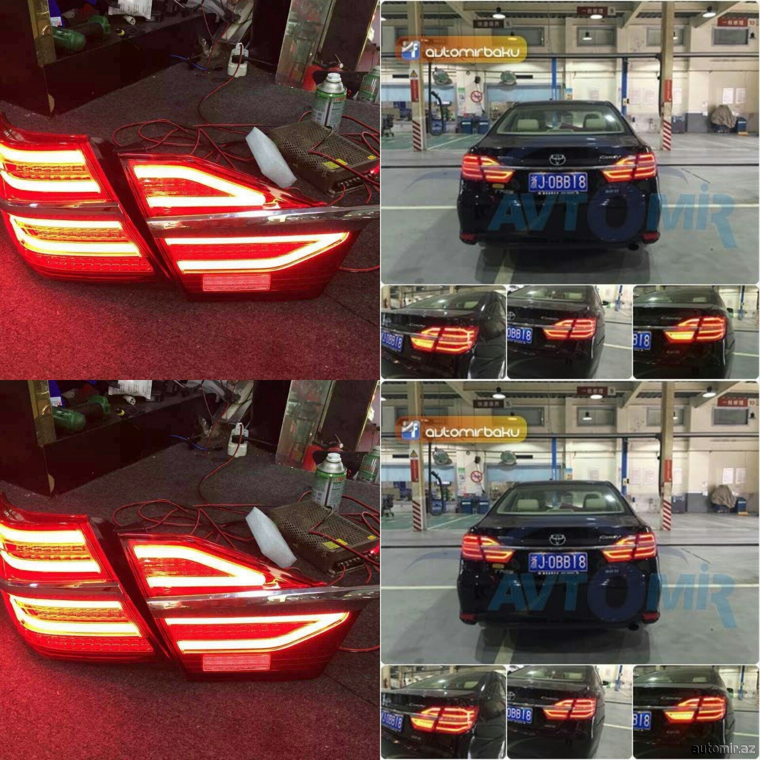 Camry led tail light...